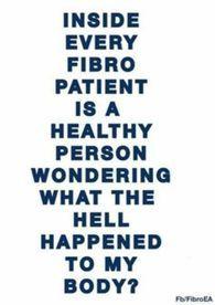 Or any chronic illnesses/autoimmune diseases/chronic pain disorders/etc.