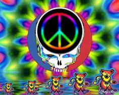 DEADHEAD PEACE & DANCING BEARS