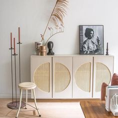 ADD Rattan Furniture, Diy Furniture, Furniture Design, Natural Furniture, Furniture Makeover, Bedroom Furniture, Bedroom Decor, Ikea Ivar Cabinet, Ikea Hacks