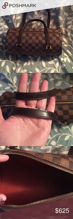 Louis Vuitton Damier papillon 26 100% authentic! Lightly used; in VERY good condition. This beauty is practically brand new. Leather is in amazing condition. No rips or stains. Date code is SP0033 Louis Vuitton Bags Mini Bags