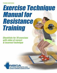 Exercise Technique Manual for Resistance Training 3rd Edition With Online Video Check It Out Now        Created by the National Strength and Conditioning Association (NSCA), Exercise Technique Manual for Resistance Training, Thir ..  http://www.healthyilifestyles.top/2017/05/21/exercise-technique-manual-for-resistance-training-3rd-edition-with-online-video-2/