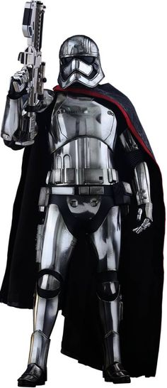Star Wars Episode VII Movie Masterpiece Action Figure 1/6 Captain Phasma