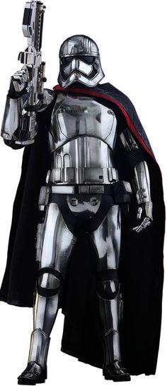 Star Wars Episode VII Movie Masterpiece Action Figure 1/6 Captain Phasma