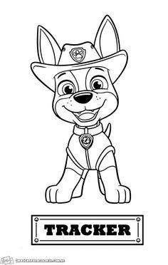 Patrulha Canina - Imagens para Colorir Blank Coloring Pages, Paw Patrol Coloring Pages, Adult Coloring Book Pages, Colouring Pics, Coloring Pages For Kids, Coloring Books, Kids Coloring, Paw Patrol Party, Paw Patrol Birthday
