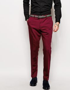 Red Eleven Tux Suit Trousers