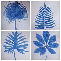 Ser de acuarelas color azul intenso !!! by@elena.storni