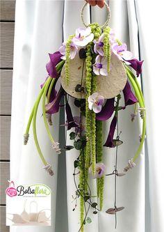 Bolsa Flora Purple Calla's and orchids | Bolsa Flora