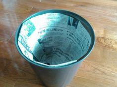 【簡単20秒】新聞紙でゴミ箱の内袋を作ろう!もうレジ袋には戻れない♪ | 片付けブログ「ずぼらイズ」|子育て中のずぼら主婦による汚部屋お片付けの記録 Origami, Diy And Crafts, Paper Crafts, Explosion Box, Paper Folding, Clean Up, Housekeeping, Clean House, Home Deco