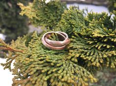 3 in 1 mokume gane ring