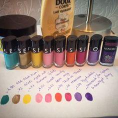 Ma nouvelle collection de vernis @sephorafrance en Soldes et dès 15-16h dans l'Article Haul sur mon Blog ❤️ www.kassandra-dreamsfit.com