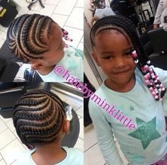 Image result for kids cornrow with beads