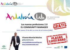 """Por primera vez en los 4 años de vida del monográfico de Andalucía Lab sobre """"Community Manager"""", vamos a hacer una edición fuera de la sede de Marbella.    Y va a ser en Jerez de la Frontera (Cádiz), en la Cámara de Comercio.    Las plazas estaban agotadas la semana pasada, pero se ha ampliado el aforo así que AÚN PODÉIS RESERVAR PLAZA. Comenzamos el jueves 19 de Abril, y tenéis toda la información y el acceso a la reserva en…"""
