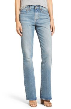 Free shipping and returns on Levi's® 'Vintage' Flare Jeans (Beachfront) at Nordstrom.com. Faded light-wash denim gives an authentic vintage vibe to relaxed jeans finished with slightly flared hems, furthering the throwback appeal.