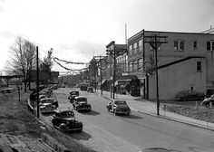 Main Street in Seymour 1948