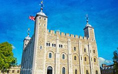 Tower of London London Art Print London History by FineArtography