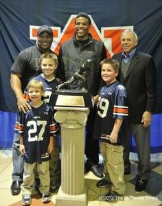 Bo Jackson, Cam Newton and Pat Sullivan and some lucky, lucky kids!