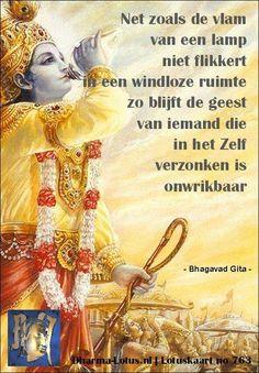 Lotuskaart: Bhagavad Gita