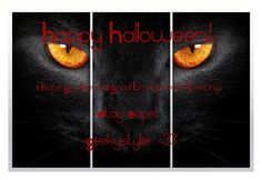 """""""Happy Halloween! 🎃"""" by geekystyler ❤ liked on Polyvore featuring art"""