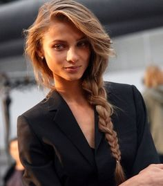 We know braids are in for 2012, but want an edgier look? You can choose the faux-hawk braided hairstyle that can be luscious and gorgeous. Add a little detailing creme to the hair and create a tight braid on one side of the head leaving the remaining part loose. Create some volume to the other half hair with Aquage Transforming Spray! Like? www.aquage.com and www.facebook.com/aquage.BIOMEGA