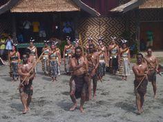 Te Matarae i O Rehu Kapa Haka Performance Solomon Islands, New Zealand, The Past, Image, Maori