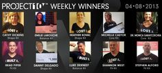 Project 10 Weekly Winners