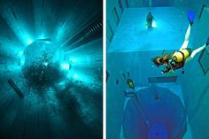 Nemo 33 - the world's deepest swimming pool!