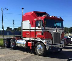 1978 Kenworth Aerodyne Cabover. BJ and the Bear replica.