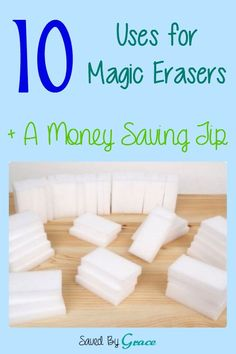 10 Uses for Magic Erasers