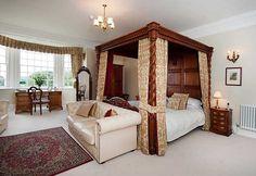Four-poster luxury at Goldsborough Hall
