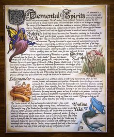 Custom created for The Witches Moon™ Artwork by Adrienne Alden 8 x Print (Comes with backboard and clear sleeve) NOT FOR RESALE Witchcraft Spell Books, Magick Spells, Wiccan Witch, Wicca Witchcraft, Wiccan Art, Fairy Spells, Wiccan Sabbats, Wiccan Books, Elemental Magic