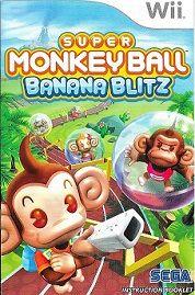 Super Monkey Ball: Banana Blitz Wii Game Instruction Booklet