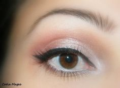 Soft and dramatic eye color to make your beautiful brown eyes pop!