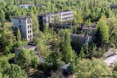 Abandoned school in Pripyat Ukraine