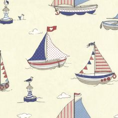 Top Seller: Sail Away Blue Printed Fabric from £11.90 http://www.ukcurtainsandinteriors.co.uk/acatalog/Sail-Away-Blue-Printed-Fabric-13117.html