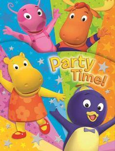 Backyardigans Birthday Party