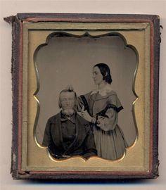 Exceptional Civil War Era Narrative Occupational Medical Nurse Cares for Old Man | eBay