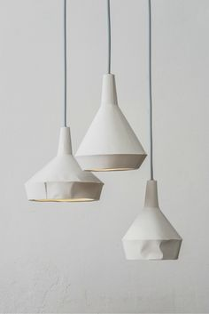 COS   Design   Like paper lamps concrete