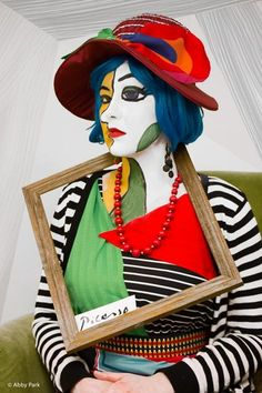 My 2014 Picasso Halloween Costume