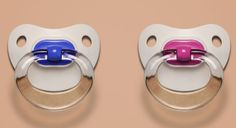 Find Out Baby's Sex - Boy and Girl Pacifiers