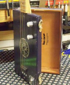 Cigar Box Guitar Made in Hazelhurst MS
