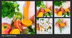 Shutterstock is a global marketplace for artists and creators to sell royalty-free images, footage, vectors and illustrations. Colorful Fruit, Royalty Free Images, The Creator, Canning, Things To Sell, Illustration, Illustrations, Home Canning, Conservation