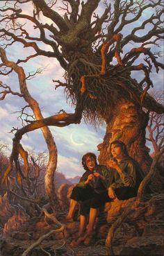 Merry, Pippin, & Treebeard