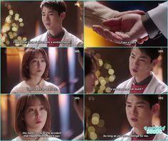 dong joo confess his feelings to seo jung with a beautiful necklace - Romantic Doctor Kim - Episode 14