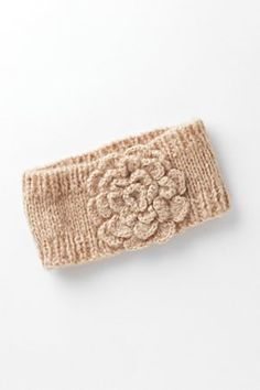 knitted headband instead of a headband maybe a coffee cozy