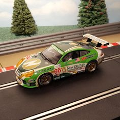 Scalextric 1:32 D... now for sale! Browse here http://www.actionslotracing.co.uk/products/scalextric-1-32-digital-car-porsche-911-gt3r-66-new-century-lights-m?utm_campaign=social_autopilot&utm_source=pin&utm_medium=pin