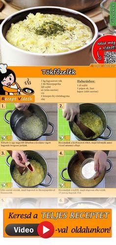 Veggie Dishes, Veggie Recipes, Soup Recipes, Vegetarian Recipes, Cooking Recipes, Healthy Recipes, Hungarian Cuisine, European Cuisine, Hungarian Recipes