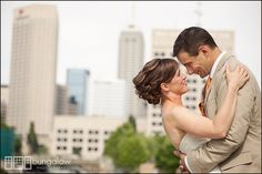 Kirsten + Dan   Wedding Ceremony and Reception.  Photos by Bungalow Photography.  #IndianaStateMuseum