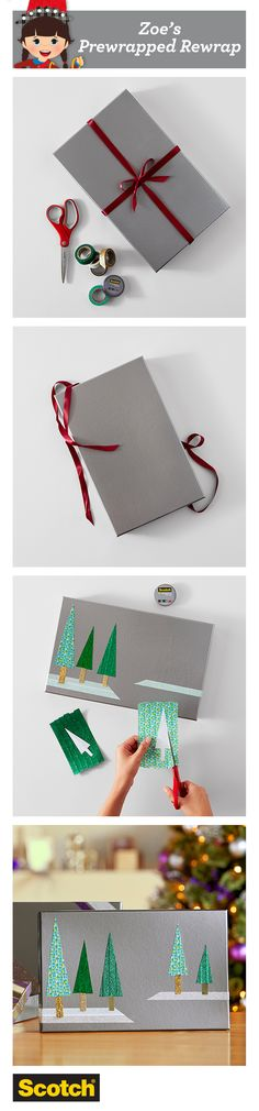 Zoe has 3 creative ways to add some zazzle to that plain, boring gift box.