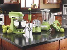 KitchenAid Green Apple KSM150PSGA Artisan Series 5-Quart Stand Mixer - StandMixers.ca