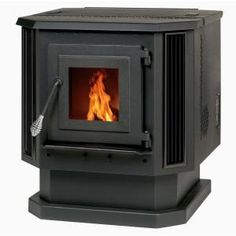 Heating your home with a fireplace is never going to go out of style, but the Summers Heat Pellet Stove takes the classic hearth in a modern direction. Best Pellet Stove, Pellet Stove Inserts, Wood Pellet Stoves, Pellet Burner, Pellet Heater, Wood Heaters, Stoves For Sale, Wood Pellets, Home
